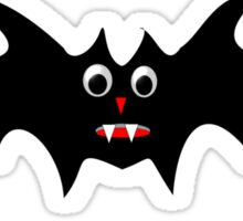 Black Vampire Bat Sticker