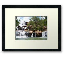Erb Falls Framed Print