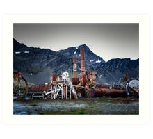 Old Whaling Station Art Print