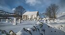 Winter in the Churchyard. by David Alexander Elder