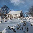 Winter in the Churchyard. by David Alexander Elder