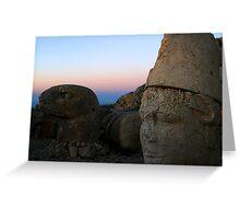 Mount Nemrut Greeting Card