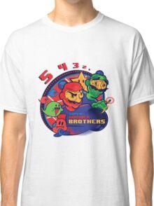 super bomber bros. - mario bomberman mashup Classic T-Shirt