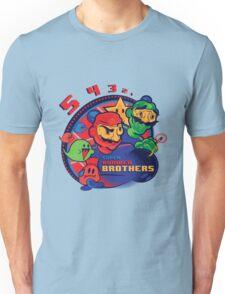 super bomber bros. - mario bomberman mashup Unisex T-Shirt