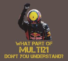 Multi21 Mark Webber Sebastian Vettel Formula one by beukenoot666