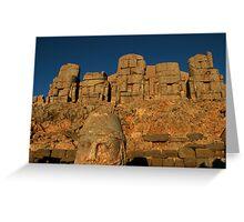 Mount Nemrud Greeting Card
