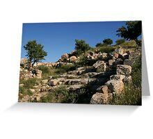 Ruins of Arsameia Greeting Card