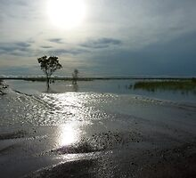 Kimberley Downs Flat in Flood by overtherange