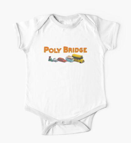 Poly Bridge T-Shirt  One Piece - Short Sleeve