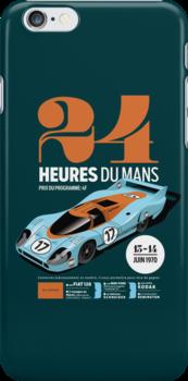 Le Mans Porsche 917 (dark) by robgould1972