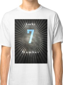 Lucky Number 7 Classic T-Shirt