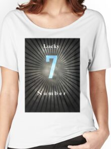 Lucky Number 7 Women's Relaxed Fit T-Shirt