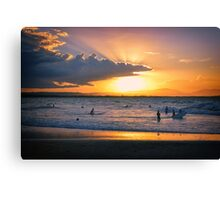 Byron Bay Sunset Canvas Print