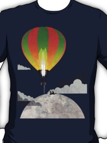 Picnic in a Balloon on the Moon T-Shirt
