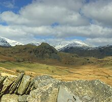 Wall Top And Wetherlam by Jamie  Green