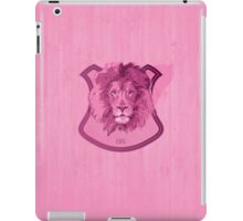 Hunting Series - The Pink Lion Head iPad Case/Skin