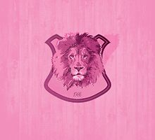 Hunting Series - The Pink Lion Head by thejoyker1986