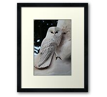 """"""" I'M Not Really Made Out Of Wood """" Framed Print"""
