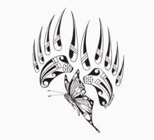 Butterfly/Bear Hopi style by Yukuma Selestewa by truefunksoldier