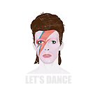 David Bowie - Let's Dance by 76kid