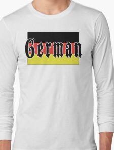German Long Sleeve T-Shirt