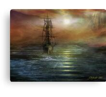 Approaching the New World Canvas Print