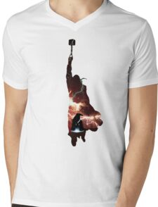 Hammer of Thunder and Lightning Mens V-Neck T-Shirt