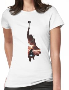 Hammer of Thunder and Lightning Womens Fitted T-Shirt