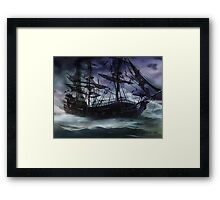 Black Pearl  - Troubles Again Framed Print