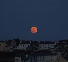 Super Moon, Isle of Man by AbbieeHarveyy