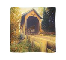 Smith Rapids Covered Bridge,Price County,Wisconsin U.S.A. Scarf