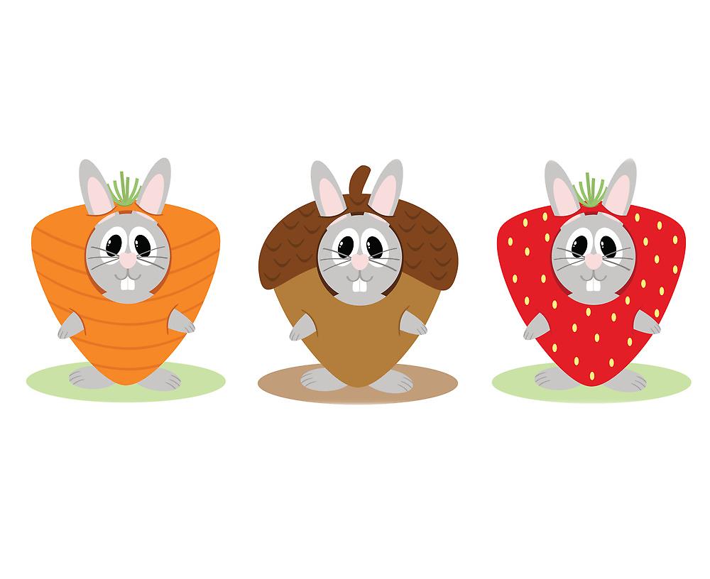 Bunny Costumes by EmilyListon4