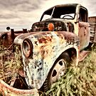 Vintage Truck abandoned Saskatchewan Field Canada by pictureguy
