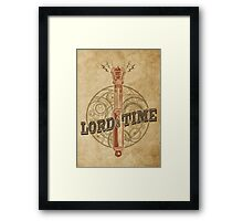 Steampunk Sonic Screwdriver Framed Print