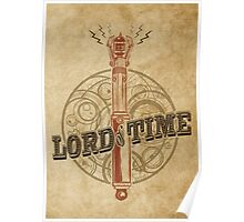 Steampunk Sonic Screwdriver Poster