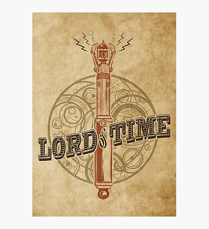 Steampunk Sonic Screwdriver Photographic Print