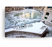 Chicago Downtown City  Canvas Print
