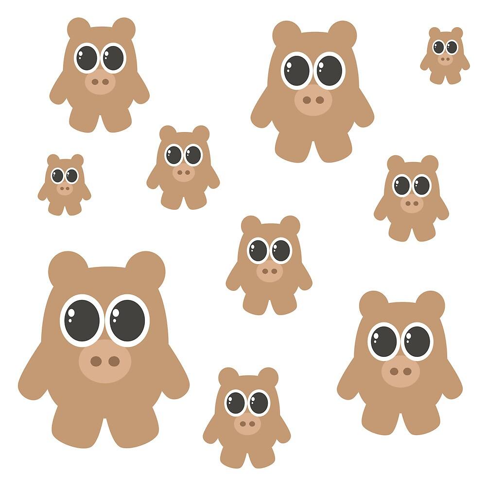 Brown Bears by EmilyListon4