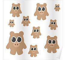 Brown Bears Poster