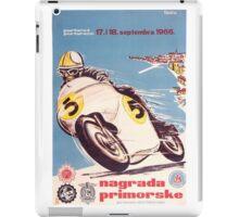 Vintage Motorcycle Racing iPad Case/Skin