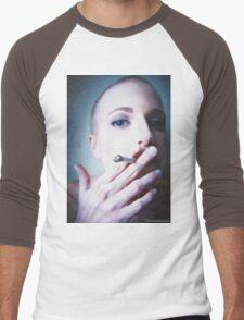 Devin Smoking Men's Baseball ¾ T-Shirt
