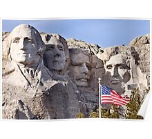 Mount Rushmore South Dakota Black Hills Poster