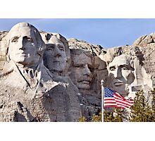 Mount Rushmore South Dakota Black Hills Photographic Print