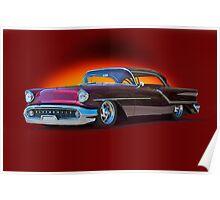 1957 Oldsmobile Custom Studio 3 Poster