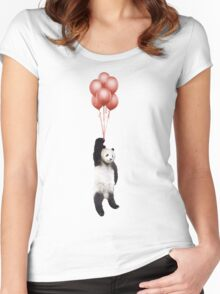 Pandaloons Women's Fitted Scoop T-Shirt