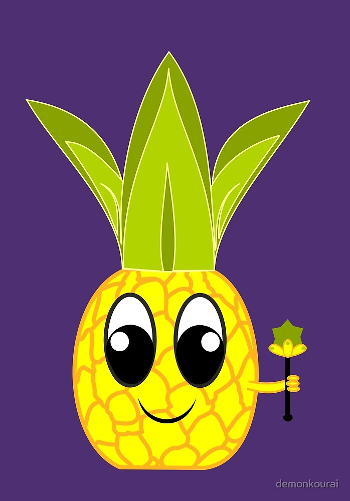 King Pineapple by demonkourai