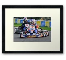 Unknown driver #12 Framed Print