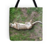 Playing Dead Tote Bag