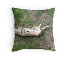 Playing Dead Throw Pillow