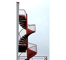 Steps for security II Photographic Print